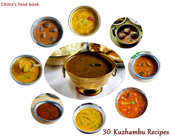 30 Kuzhambu Recipes-South Indian Kuzhambu Varieties