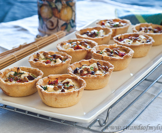 Feta & Sundried Tomato Tarts – gluten-free and low FODMAP