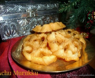Achu Murukku Recipe / Achappam Recipe / Eggless Rose Cookie Recipe / Eggless Rosette Cookies / Kerala Achappam