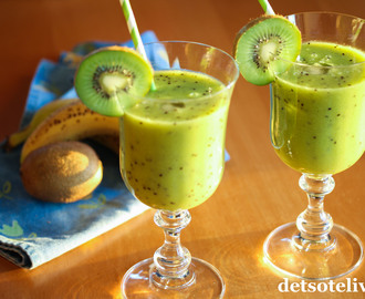 C-vitaminbombe-smoothie med kiwi