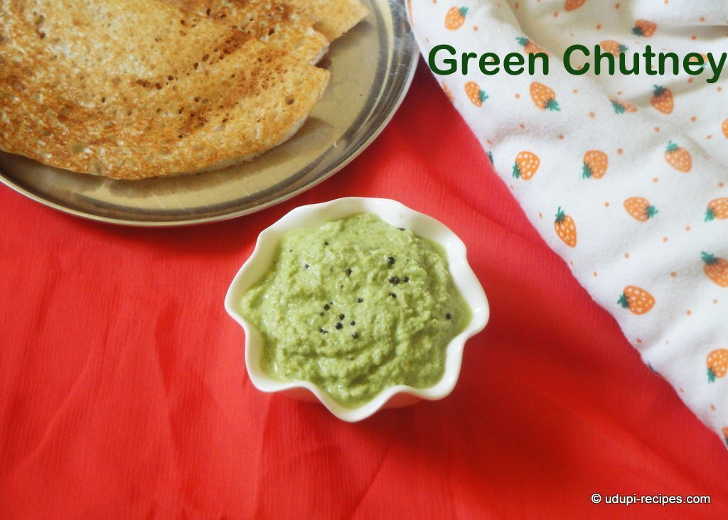Green Coconut Chutney Recipe | Side dish for Idli Dosa