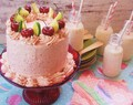 Margarita & Cherry Layer Cake