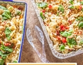 Potluck Pasta Salad Recipe & what to bring to a potluck