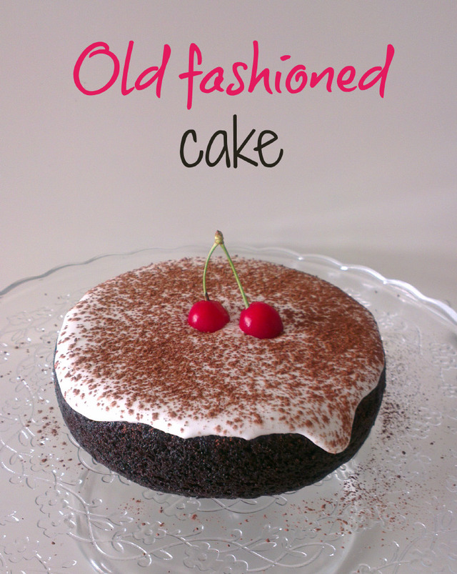 "♥ ""Old fashioned cake"" de la Miette Bakery"