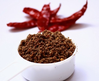 Ellu podi / Sesame seed chutney powder / side dish for idli, dosa