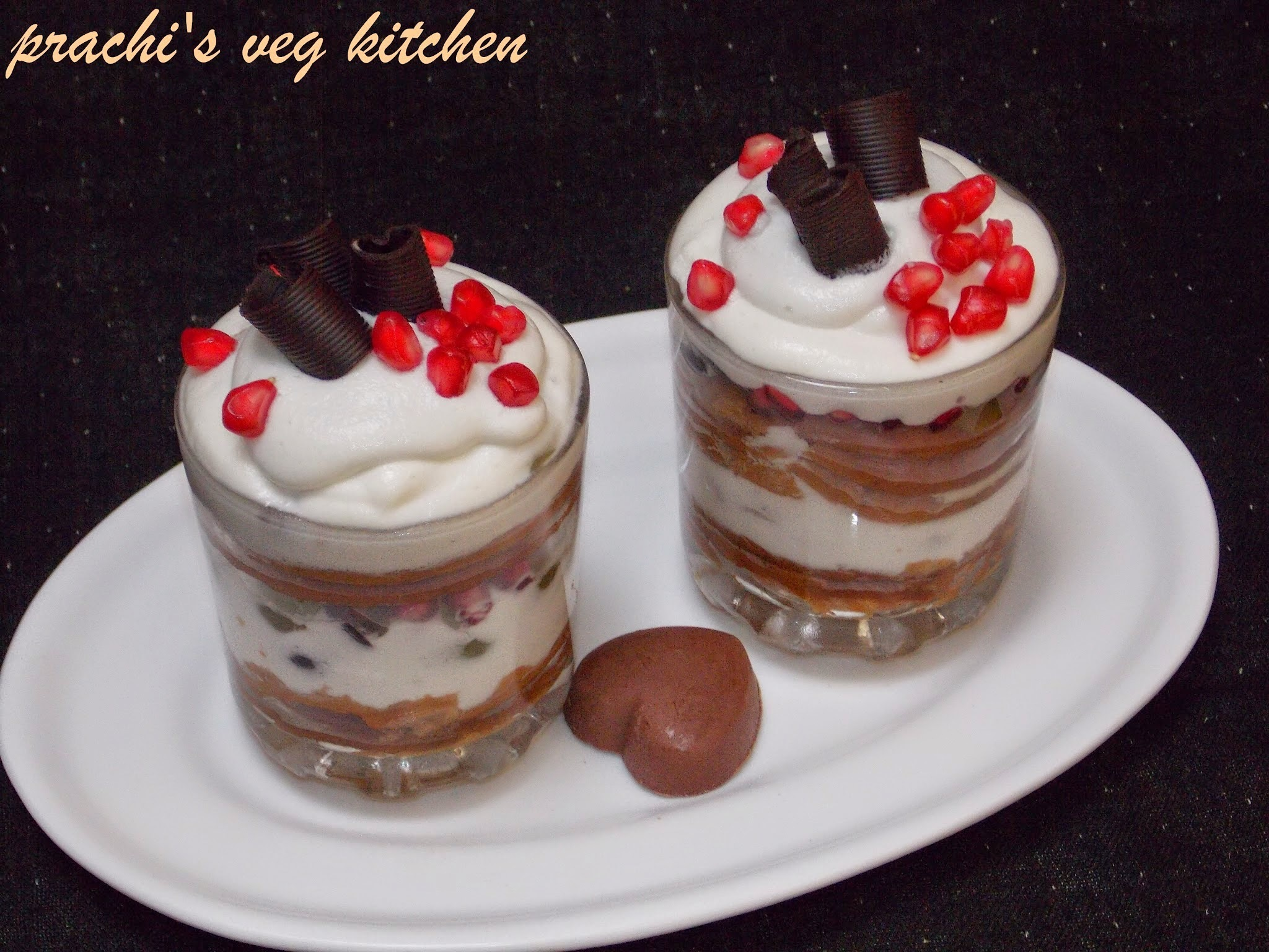 Biscuit Pudding (No bake)