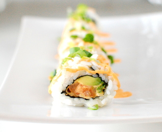 Sushi: Spicy laks