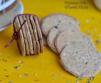 Whole Wheat & Amarnath Flour Baked Mathri