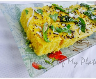 Khaman Dhokla in Microwave