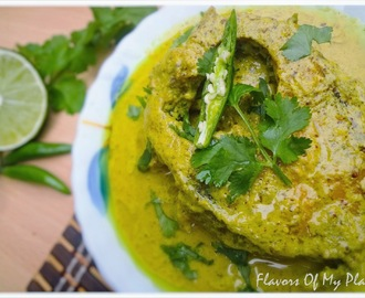 Rui Macher Jhal......Rohu Fish in Mustard Sauce  (My go-to Fish Curry)