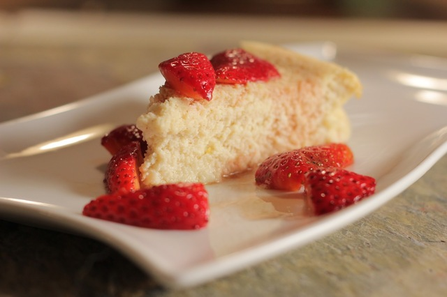 The Easiest Cheesecake Ever! No Kidding.