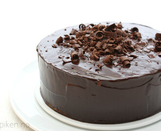 Kakepikens Chocolate Espresso Mud Cake