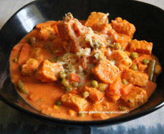 Creamy Quorn  Chicken style pieces Curry