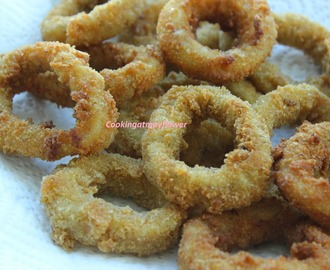 Squid rings/Fried squid rings / koonthal rings