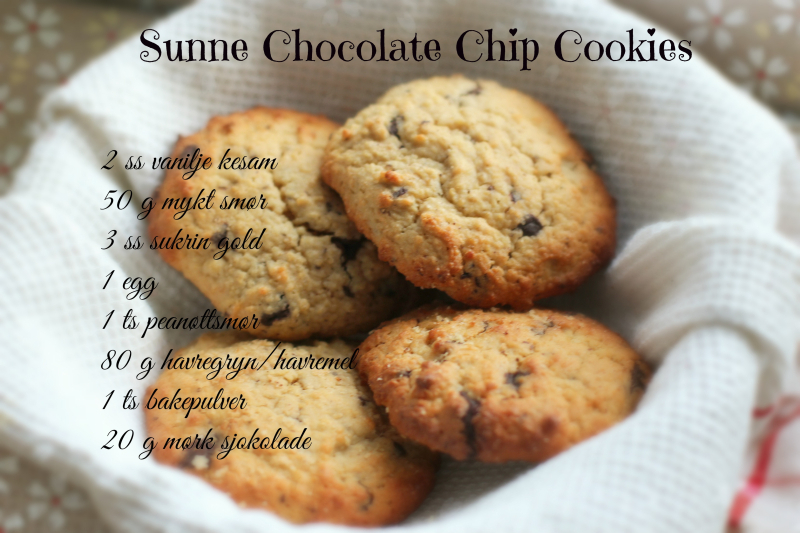 Sunne chocolate chip cookies