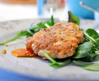 BLW Recipe of the week :: Salmon burgers