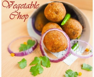Vegetable Chop (Vegetable Croquettes)...........A Winter Must-Have