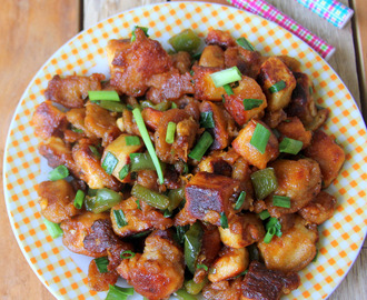 Chilli Paneer Recipes - Paneer Recipes - Snack Recipes - Kids friendly recipes - Paneer based snack recipes - Party food Recipes