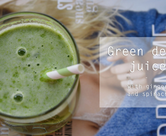 Oppskrift: green detox juice