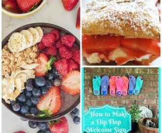 Summer's BEST recipes, activities, crafts and beauty tips