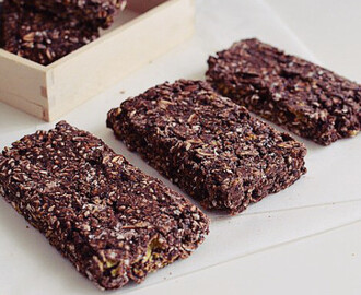 Σπιτικές μπάρες σοκολάτας με βρώμη – Chocolate Oatmeal No-Bake Bars by Gabriel Nikolaidis and the Cool Artisan!