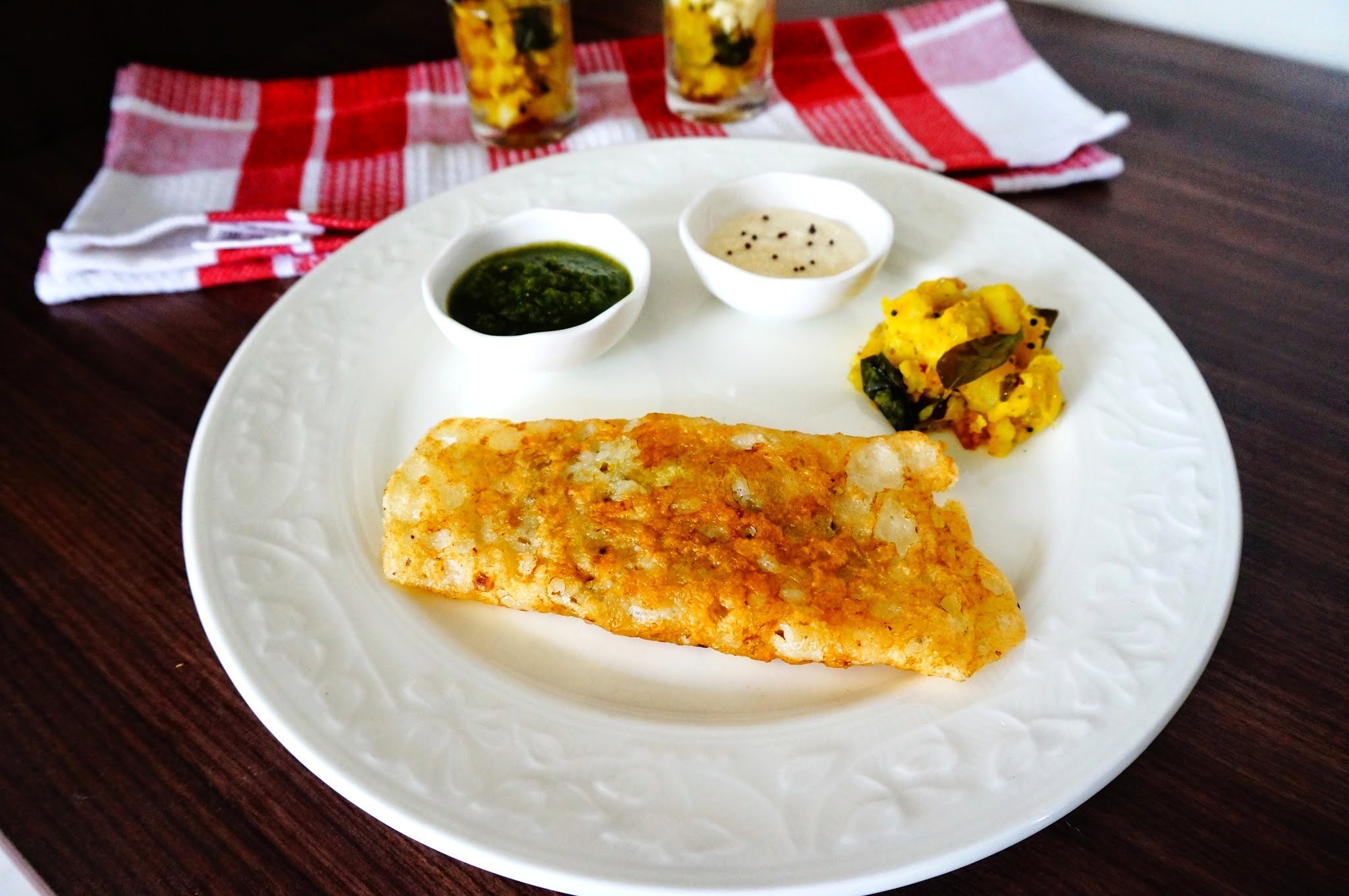 Recipe of Sooji Dosa | Puda | Semolina Chilla