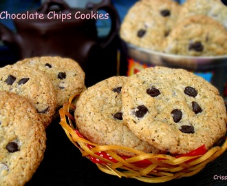 CHOCOLATE CHIPS COOKIES... ¡¡HA LLEGADO MI AIG!!