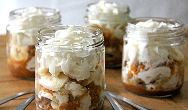 Banoffee Pie Parfaits Will Make You the Hit of the BBQ This Summer