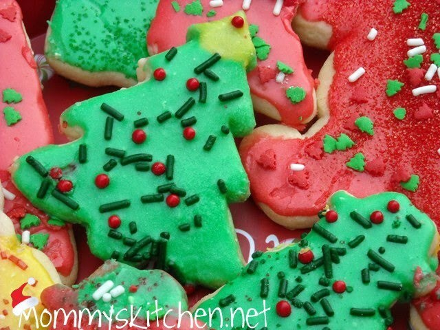 Sugar Cookie Cut Out's for Santa and Merry Christmas to Everyone.