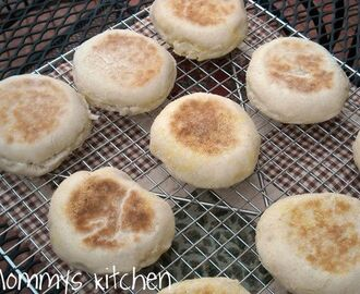 "Homemade English Muffins ""Thank You Toni"""