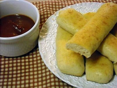 Pizza Hut Style Bread Sticks at Home!