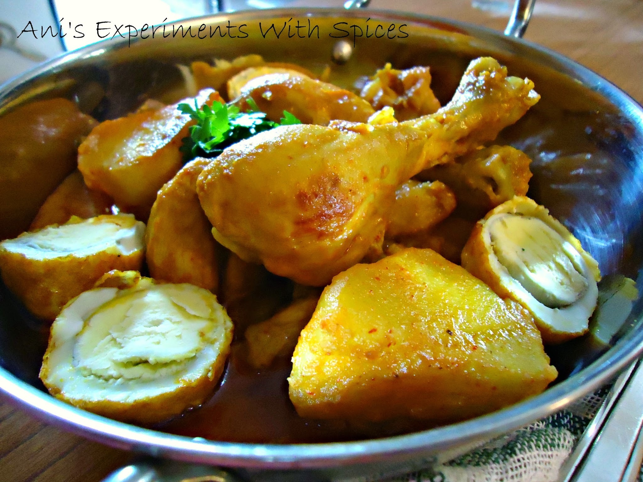 Chicken Dak Bungalow ~ An Anglo-Indian Delicacy