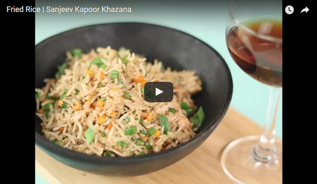 Fried Rice Recipe Video