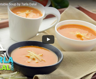 Mixed Vegetable Soup Recipe Video