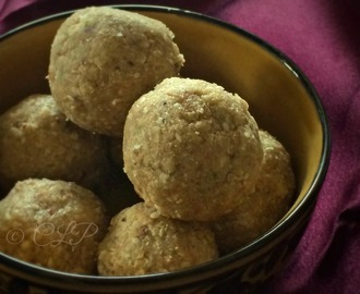 Oats Mixed Nuts Laddu | Oats Laddu Recipe | Oats sweet recipe