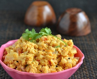 Egg Bhurji Recipe - Muttai Poriyal
