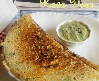 Instant Rava Dosa Recipe with Video