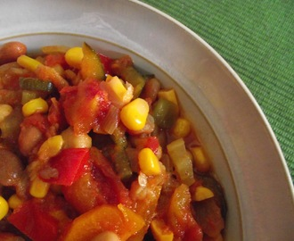Vegetable Chilli ~ Slow Cooker style