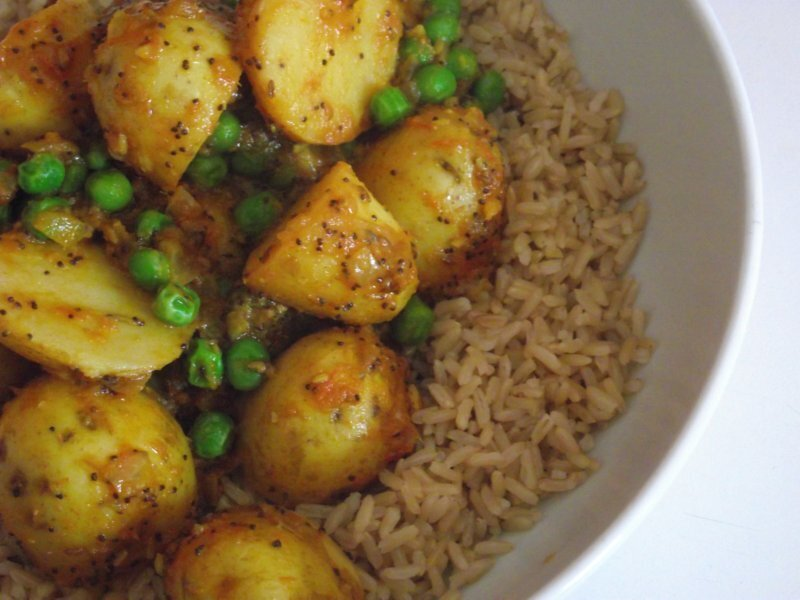 North Indian Potato Curry
