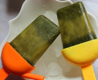 Mint & Lemon Popsicles Recipe - Easy Popsicle Recipes