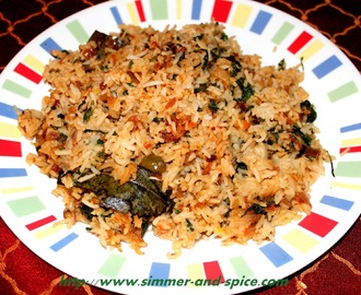 Methi Pulao / Methi RIce/ Fenugreek Rice