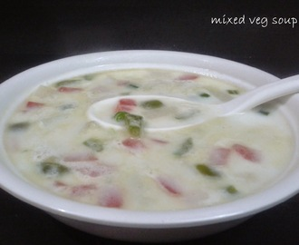 MIXED VEG. SOUP / VEGETABLE SOUP