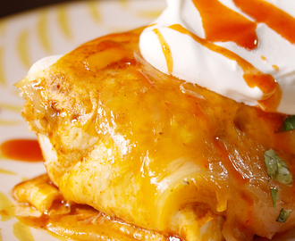 Cheesy Baked Burritos