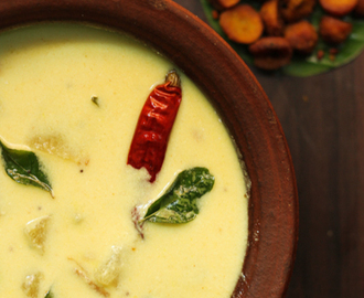Mor Kuzhambu or buttermilk curry