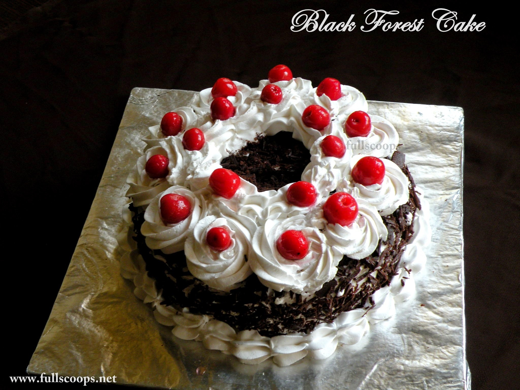 Black Forest Cake / How to make a Black Forest Cake