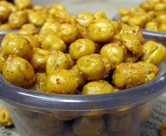 Spicy Baked Chickpeas!