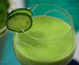 Smoothie green vitamins