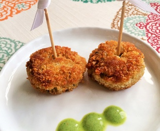 Chicken Cutlets | Chicken Croquettes for Fiesta Friday!