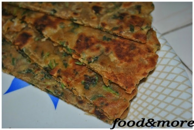 Recipe:Cheesy Palak Paratha/Cheesy Spinach Paratha