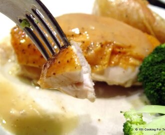 Simple Everyday Roast Chicken with Gravy